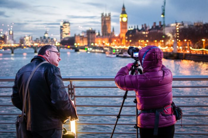 Aparat fotograficzny dla turysty podróżnika